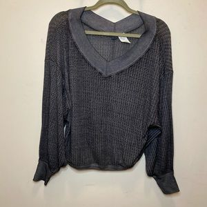Free People-We The Free Sz XS Thermal Sweater